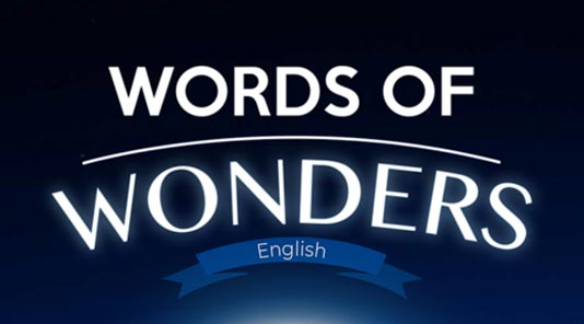 Words of Wonders Answers